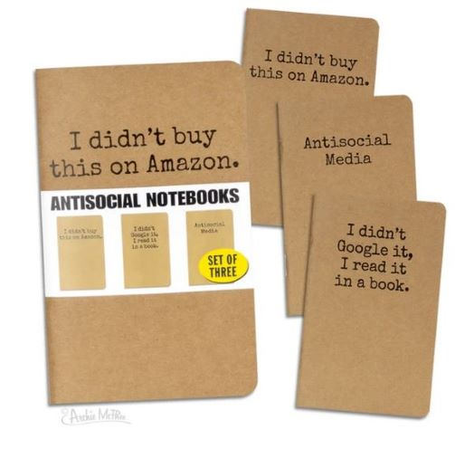 Image For Anti-Social Notebook Set